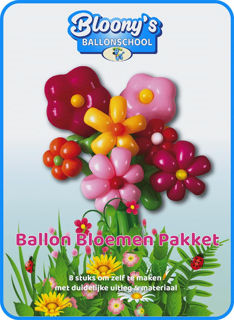 Super Ballon Bloemen Pakket - Ballonschool SV-87